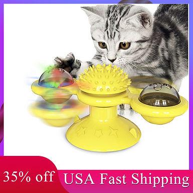 Windmill  LED Fun Cat Toy