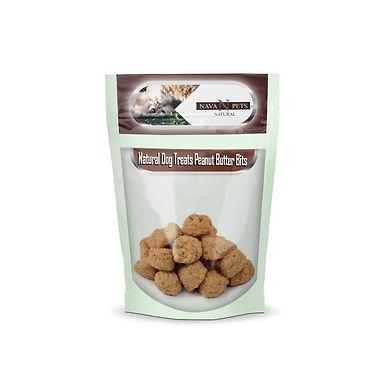 Natural Dog Treats Peanut Butter Bits