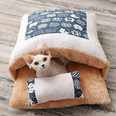 Cute & Warm Soft Fleece Pet Sleeping Bed Bag