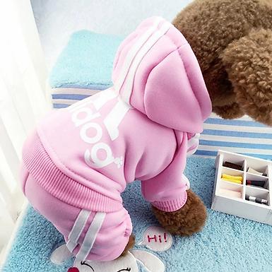 Adidas Dog Sweat Outfit