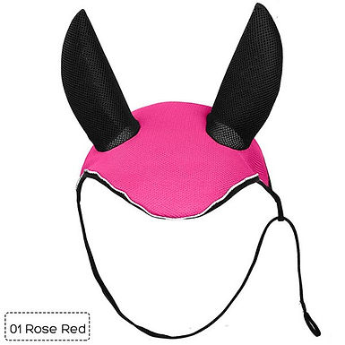 Horse Riding Breathable Meshed Horse Ear Cover Equestrian Horse Fly Mask