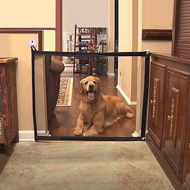 Pet Barrier Dog Gate  Folding Mesh Safe Guard