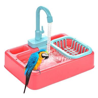 Parrot Bathtub Faucet Water Dispenser