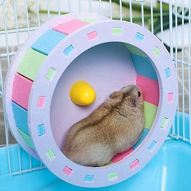 Small Animal Hamster  Running Wheel