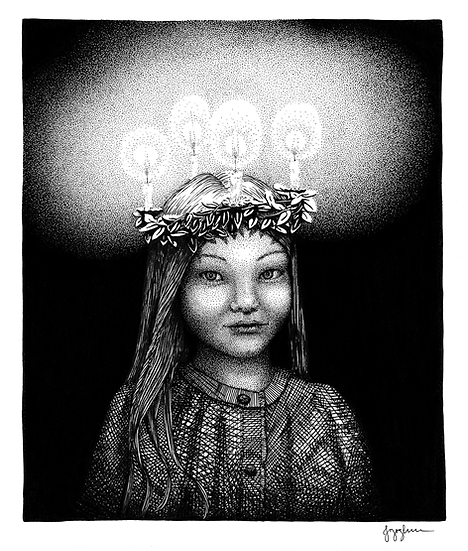 LUCIA Signed Print