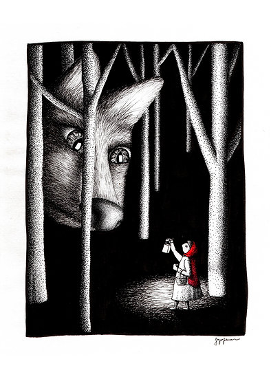 THE ONES WE MEET AT NIGHT Signed Print