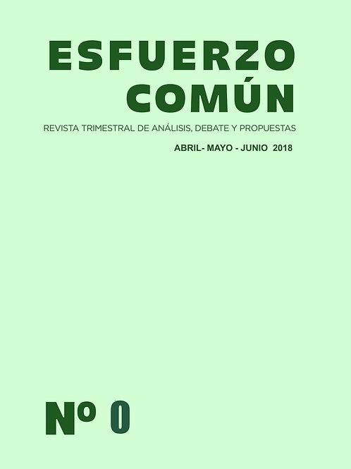 Revista Esfuerzo Común nº 0
