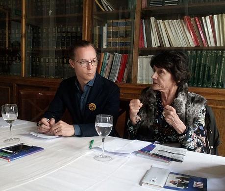Jaime y Maria Teresa de Borbón-Parm