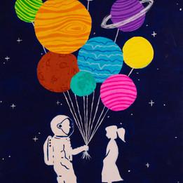 Solar System Balloons