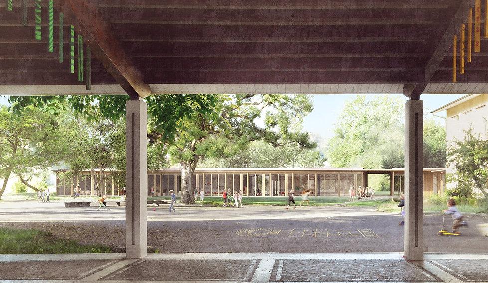 Architektur Wettbewerb Schulanlage Vorstadt Solothurn