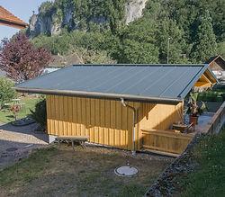 Spenglereiarbeit Falzdach Gartenhaus Hütte