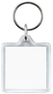 SP21 Clearview Keyring - 32mm x 32mm