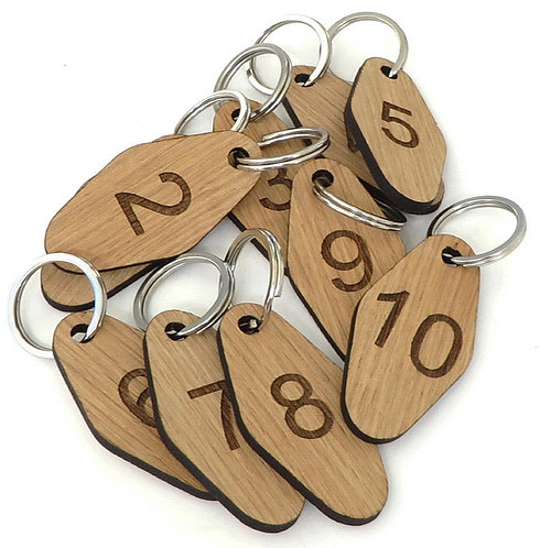 SP85 Engraved Wooden Tags -