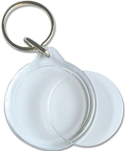 SP2 Clearview Keyring - Round - 33mm