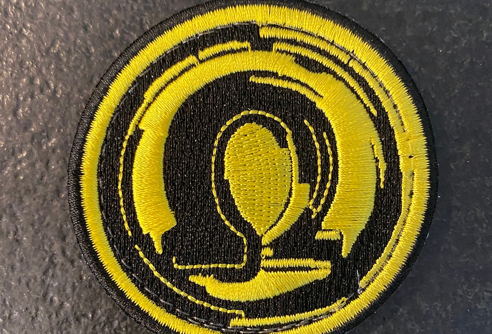 """Omega Original"" Embroidered Patch"