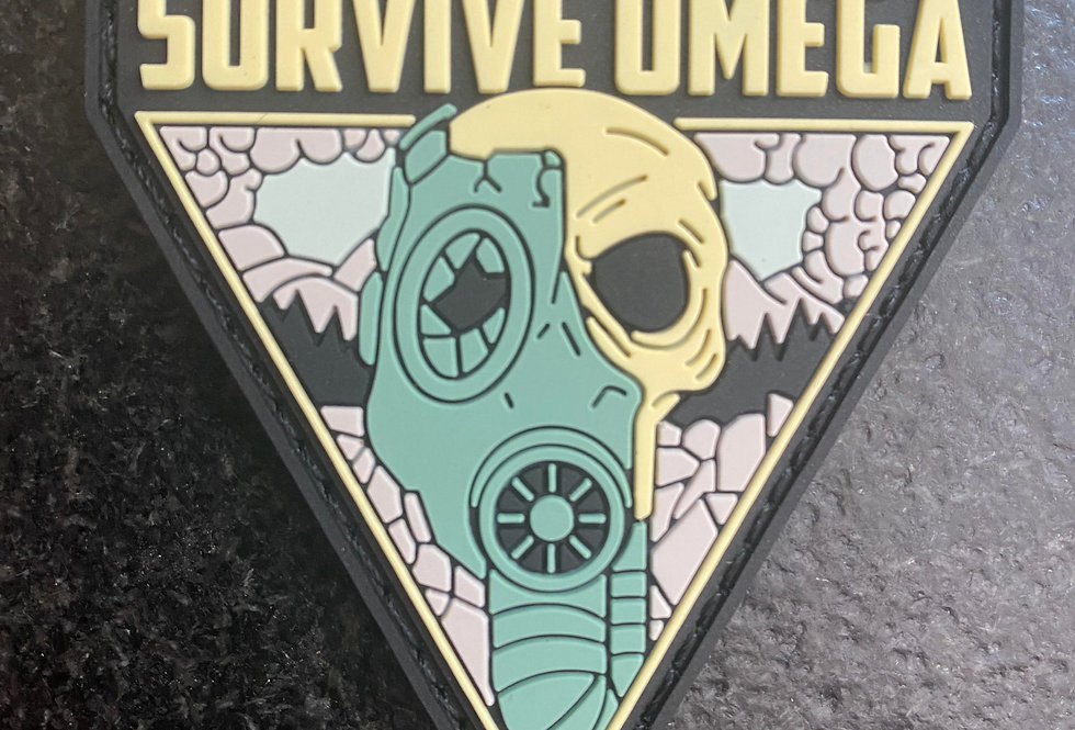 """Death + Dust"" PVC Patch"