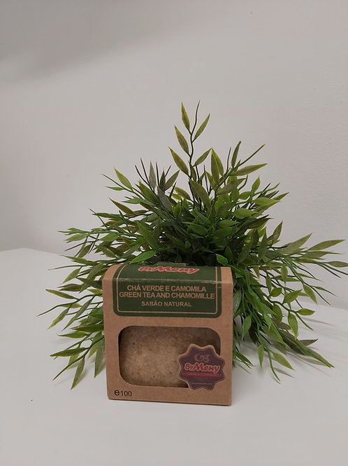 Sabonete Chá verde e Camomila