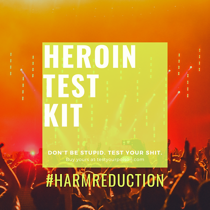 Heroin Test Kit
