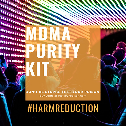 MDMA (Molly) Purity Test Kit