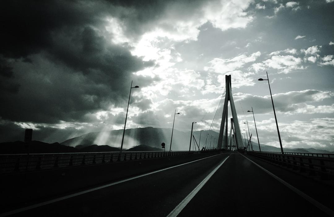 Rion bridge, Greece