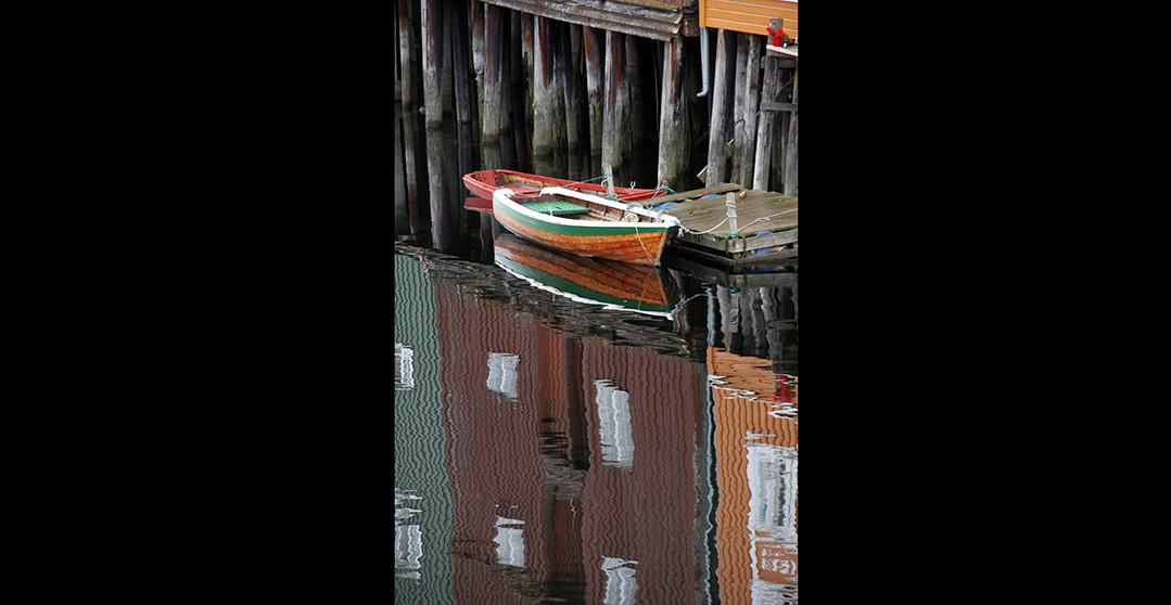 Wood boat, Norway