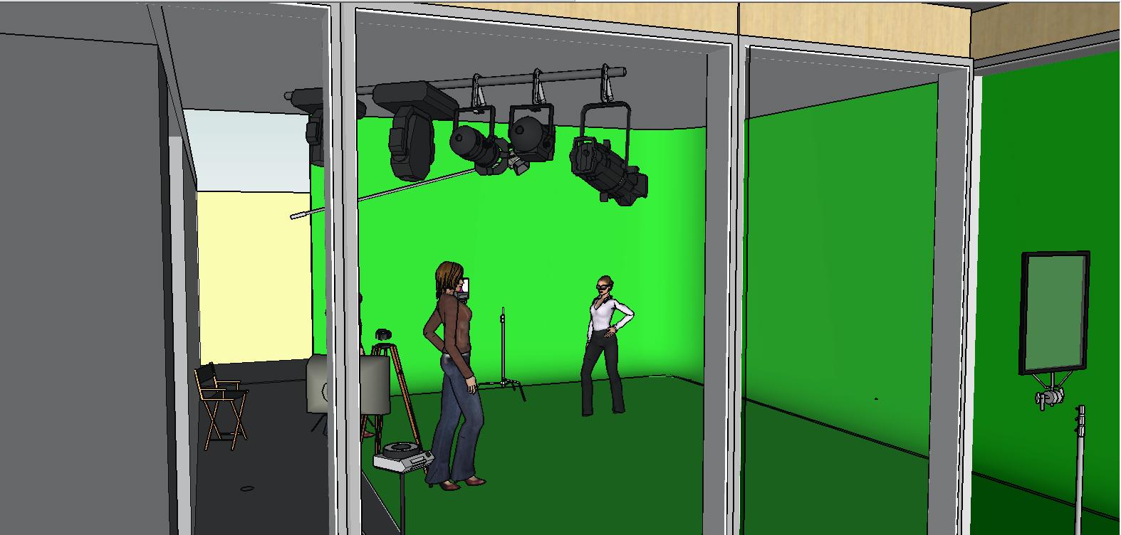 Production Company Interior Design