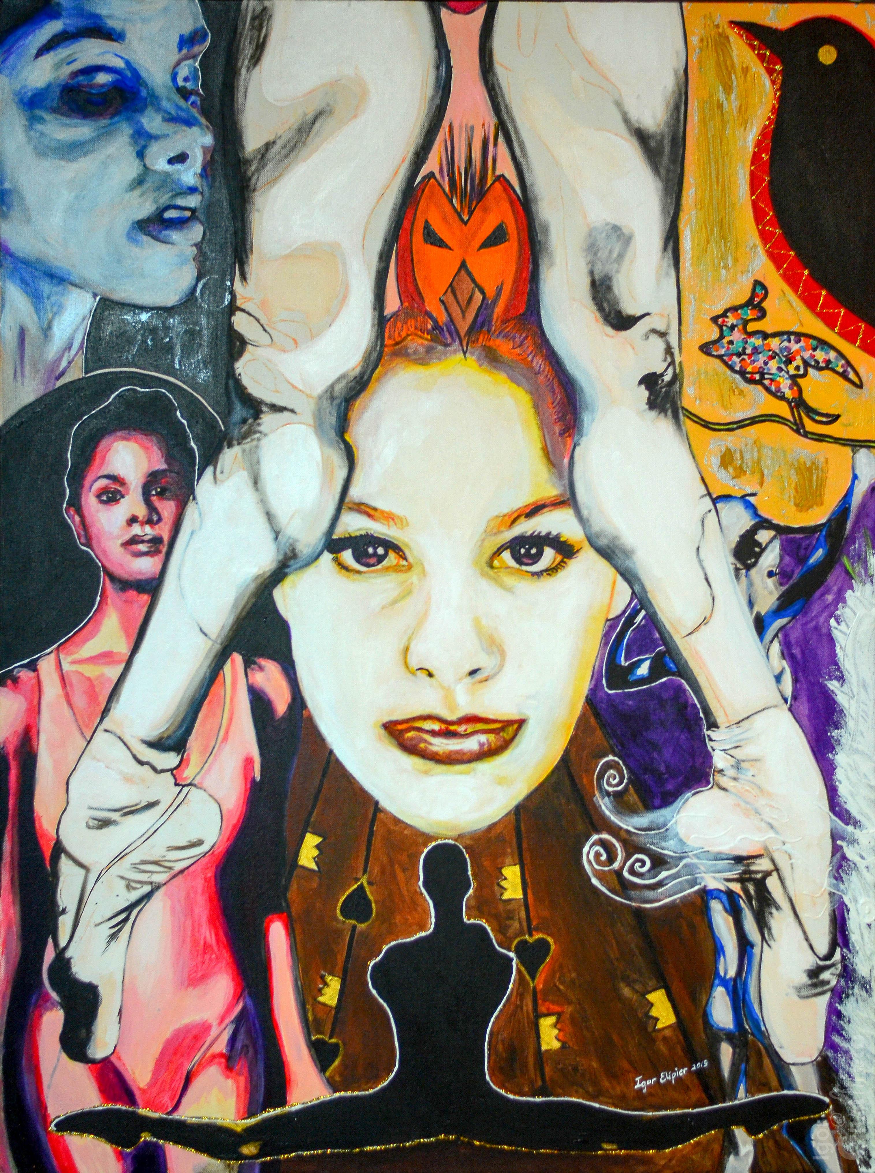 Acrylic Painting by Igor Elie-Pierre