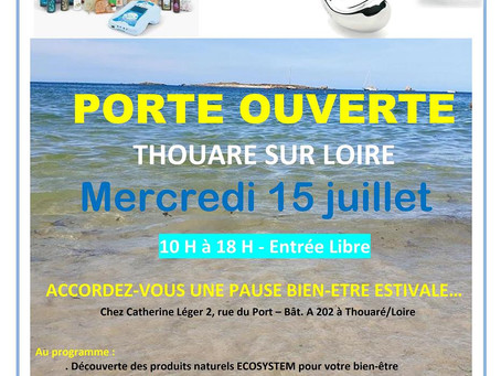 Pause Bien-Etre à Thouaré/Loire Mercredi 15 juillet
