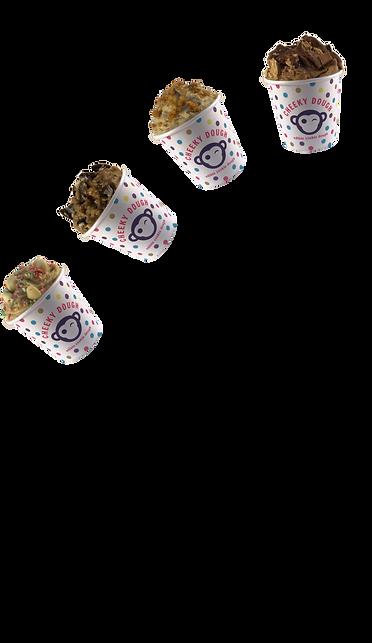 Mini Cookie Dough Tubs