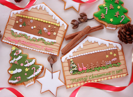 Christmas icingcookie lessonご案内