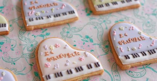 発表会のギフトクッキー