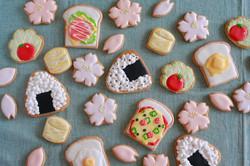 ピクニックに行きたくなるアイシングクッキー