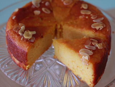 4月の工房販売のお菓子 Orange Almond Cake〜オレンジアーモンドケーキ〜