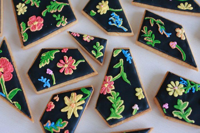 個展ノベルティアイシングクッキー
