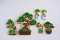 盆栽アイシングクッキー