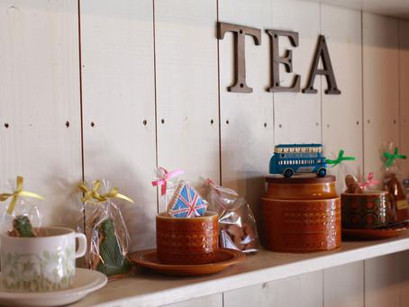 イギリス雑貨と紅茶とお菓子のコラボイベントありがとうございました