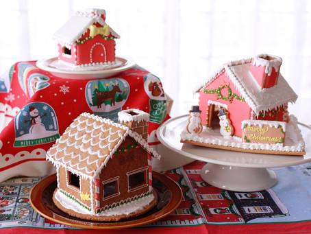 クリスマスのヘクセンハウス 3軒