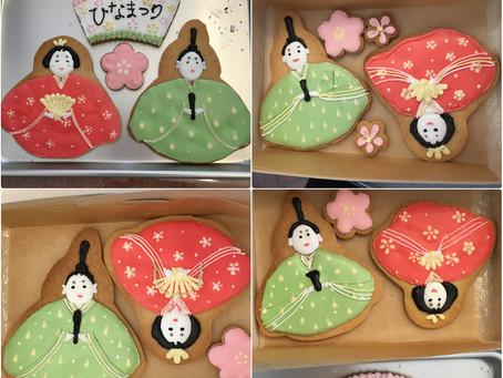 アイシングクッキーワークショップ〜ひな祭り〜ありがとうございました♪