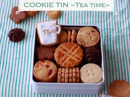 4月のクッキー缶募集のお知らせです♪
