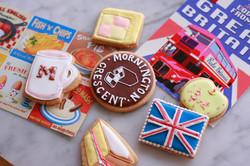 イギリス菓子教室へプレゼントのクッキー