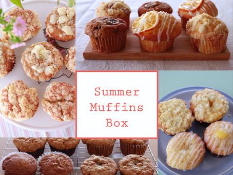 8月のお菓子便〜Summer Muffin Selection Box〜