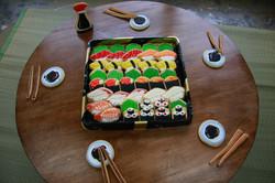 お寿司アイシングクッキー