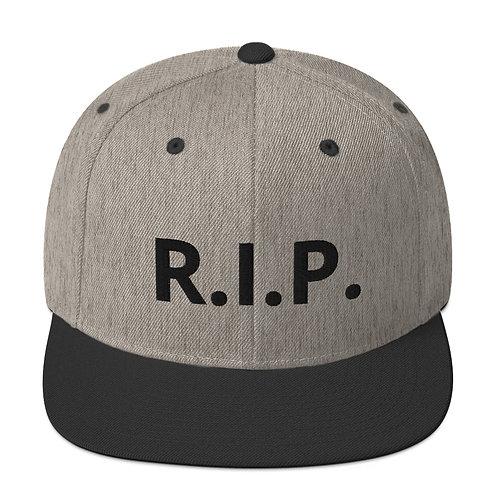 R.I.P. Snapback Hat Heather/Black