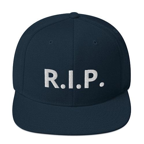 R.I.P. Snapback Hat Dark Navy