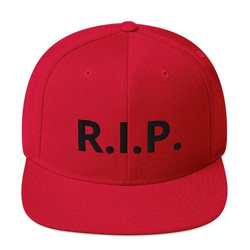 R.I.P. Snapback Hat Red