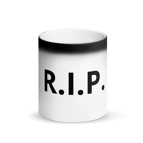 R.I.P. Matte Black Magic Mug