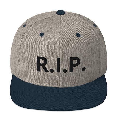 R.I.P. Snapback Hat Heather Grey/Navy