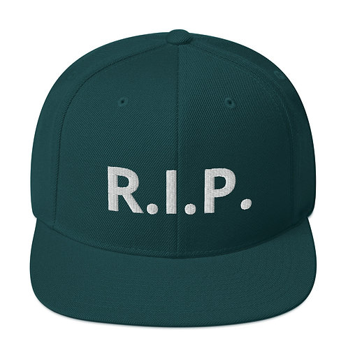 R.I.P. Snapback Hat Spruce