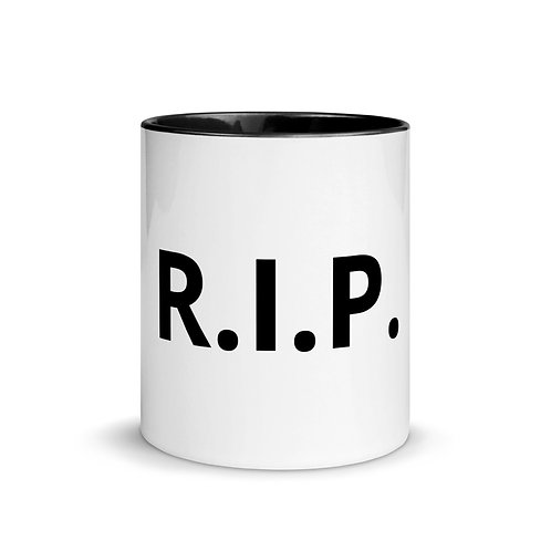 R.I.P. Mug with Color Inside