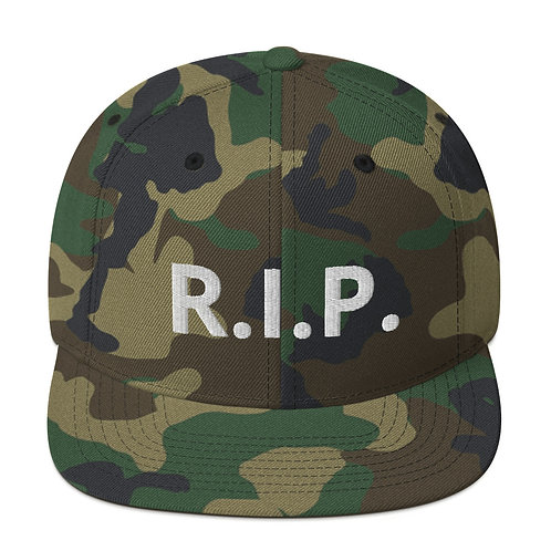 R.I.P. Snapback Hat Camo